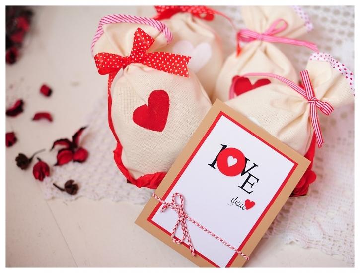 Фото - Подарочный набор Мішечки з коханням купить в киеве на подарок, цена, отзывы