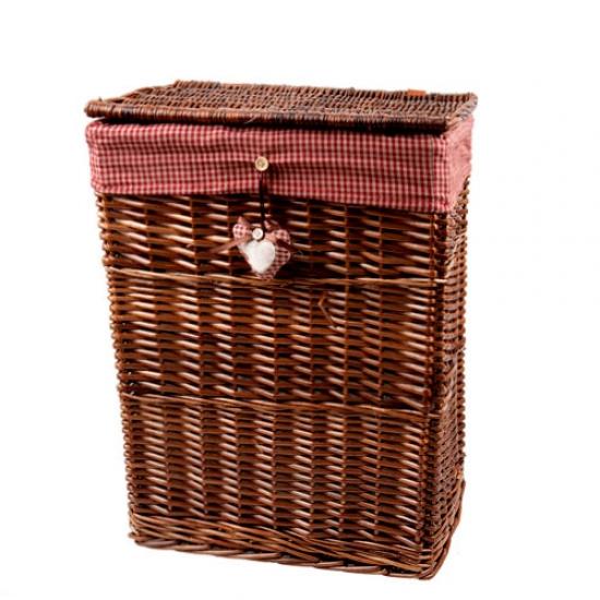 Фото - Корзина плетеная Сердечко 37х27 см купить в киеве на подарок, цена, отзывы