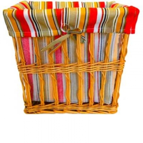 Фото - Корзина плетеная для белья Яркая Линия 30х23 см купить в киеве на подарок, цена, отзывы