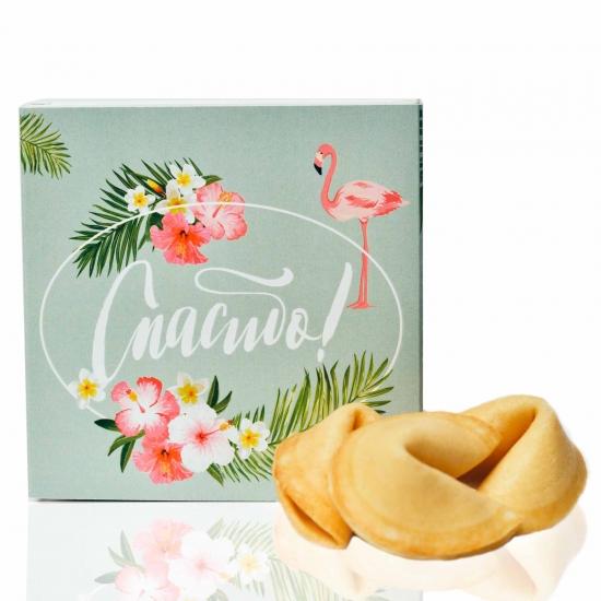 Фото - Печенье с предсказаниями  Спасибо  купить в киеве на подарок, цена, отзывы