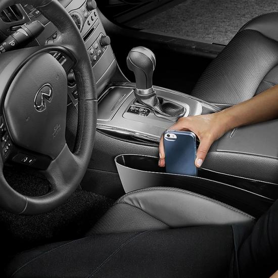 Фото - Органайзер для мелочей в автомобиль между сиденья купить в киеве на подарок, цена, отзывы