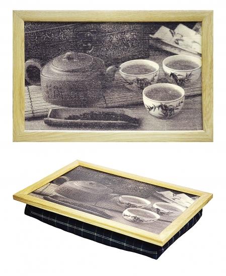 Фото - Поднос с подушкой Чайная Церемония купить в киеве на подарок, цена, отзывы