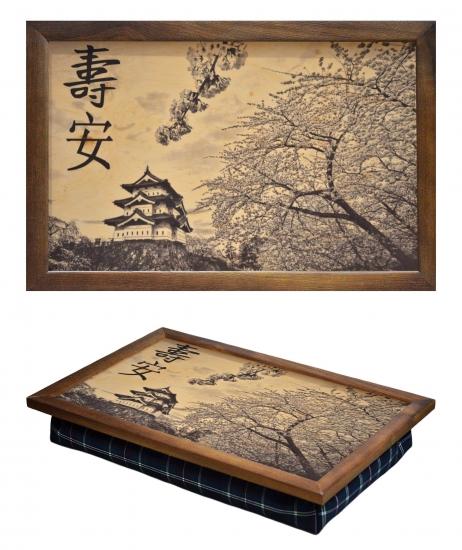 Фото - Поднос с подушкой Япония купить в киеве на подарок, цена, отзывы