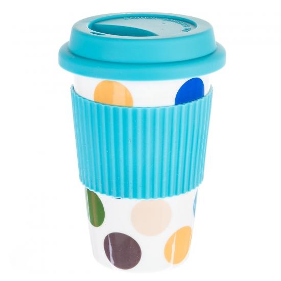 Фото - Керамическая кружка Rainbow Blue купить в киеве на подарок, цена, отзывы