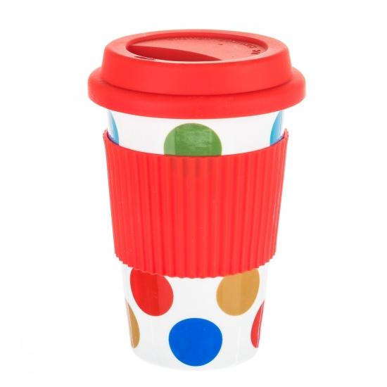Фото - Керамическая кружка Rainbow Red купить в киеве на подарок, цена, отзывы