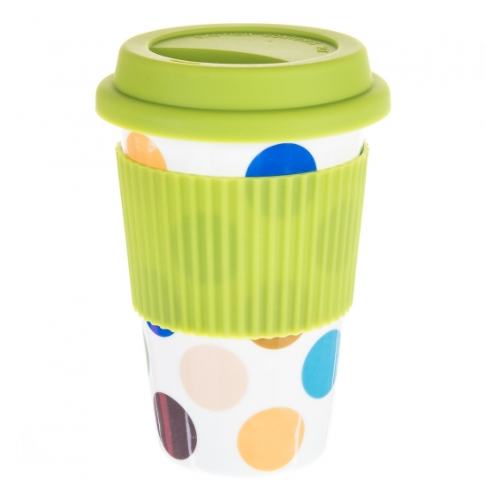 Фото - Керамическая кружка Rainbow Green купить в киеве на подарок, цена, отзывы