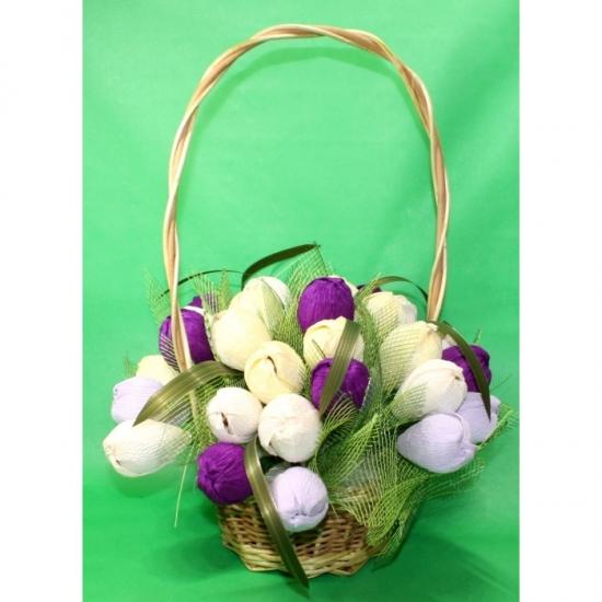 Фото - Букет из конфет Очаровашка купить в киеве на подарок, цена, отзывы