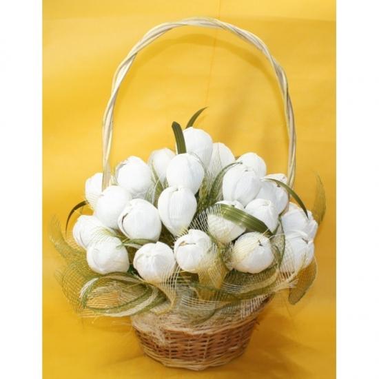 Фото - Букет из конфет Подснежники купить в киеве на подарок, цена, отзывы