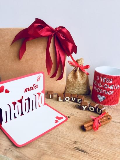 Фото - Подарочный набор Love You купить в киеве на подарок, цена, отзывы