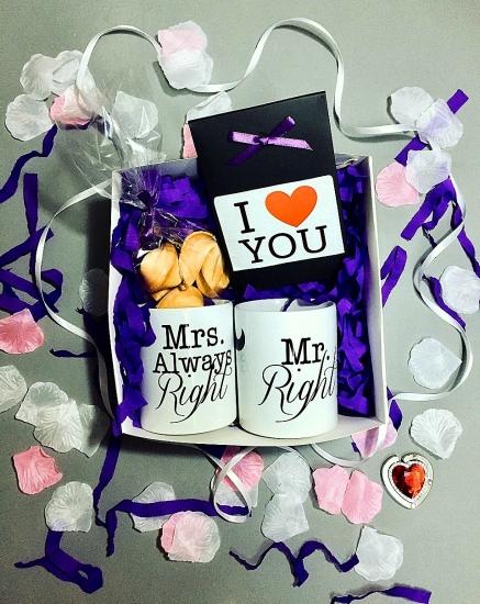 Фото - Подарочный набор Мистер и Миссис  купить в киеве на подарок, цена, отзывы