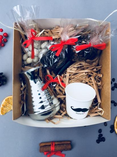Фото - Подарочный набор Кофейный ценитель купить в киеве на подарок, цена, отзывы