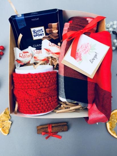 Фото - Подарочный набор Теплый презент купить в киеве на подарок, цена, отзывы