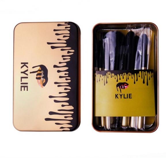 Фото - Кисти для Макияжа Kylie 12 шт купить в киеве на подарок, цена, отзывы