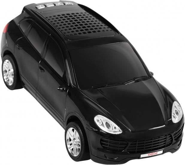 Фото - Колонка - Машинка Porsche Cayenne (колонка, плеер mp3, радио) Черная купить в киеве на подарок, цена, отзывы