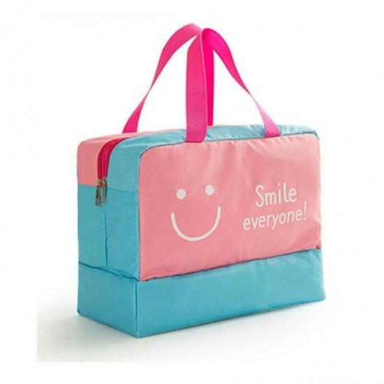 Фото - Дорожная сумка с отделением для обуви Bonjour Pink купить в киеве на подарок, цена, отзывы