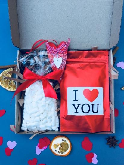 Фото - Подарочный набор Сладкая Любовь купить в киеве на подарок, цена, отзывы