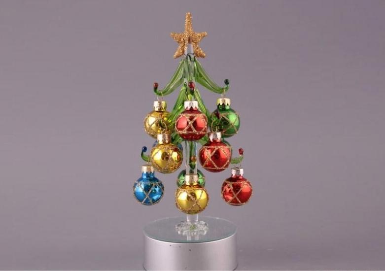 Фото - Новогодняя декоративная елочка 20см купить в киеве на подарок, цена, отзывы