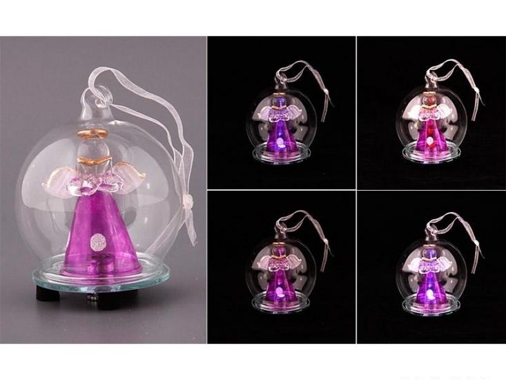 Фото - Украшение на елку с подсветкой Ангел купить в киеве на подарок, цена, отзывы