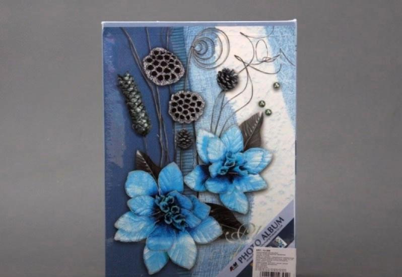 Фото - Фотоальбом Синие цветы купить в киеве на подарок, цена, отзывы