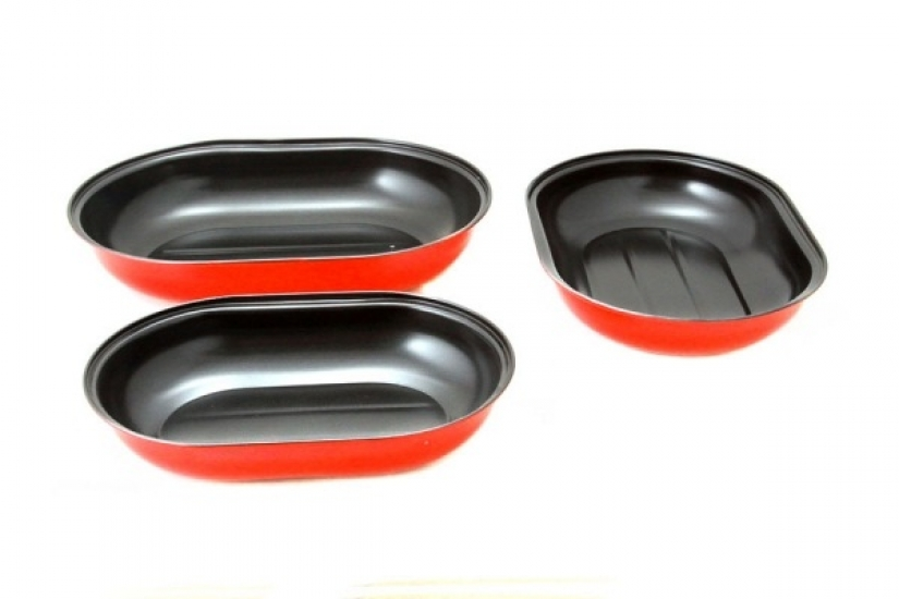Фото - Набор форм для запекания из 3 форм купить в киеве на подарок, цена, отзывы