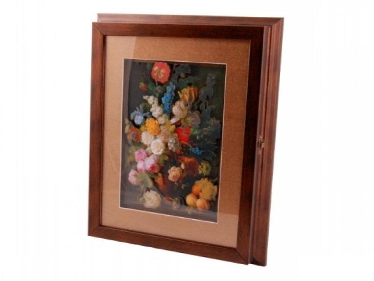 Фото - Ключница настенная Цветы купить в киеве на подарок, цена, отзывы
