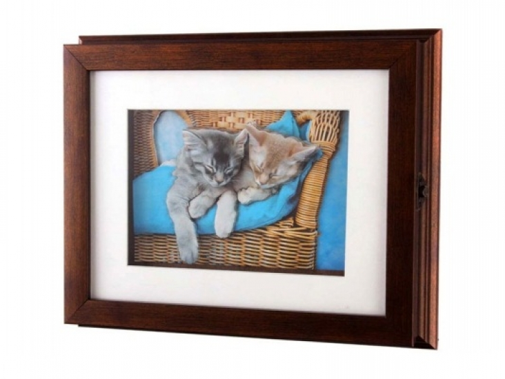 Фото - Ключница настенная Котята купить в киеве на подарок, цена, отзывы