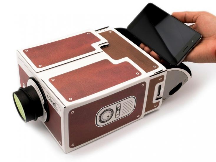Фото - Проектор для телефона купить в киеве на подарок, цена, отзывы