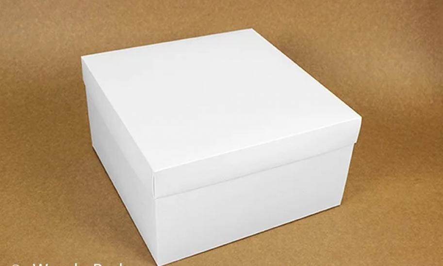 Фото - Подарочная коробка White 28х28х15 см  купить в киеве на подарок, цена, отзывы