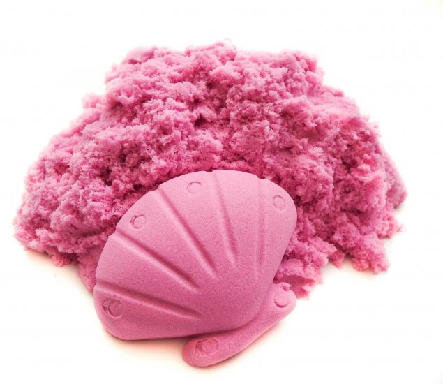 Фото - Кинетический песок розовый 500гр купить в киеве на подарок, цена, отзывы