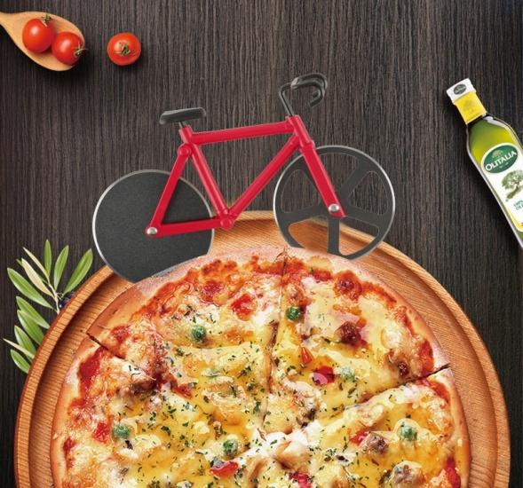Фото - Нож для пиццы Велосипед красный купить в киеве на подарок, цена, отзывы