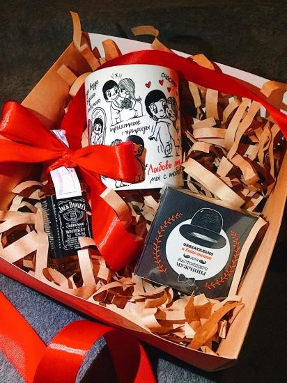 Фото - Подарочный набор Red Love купить в киеве на подарок, цена, отзывы