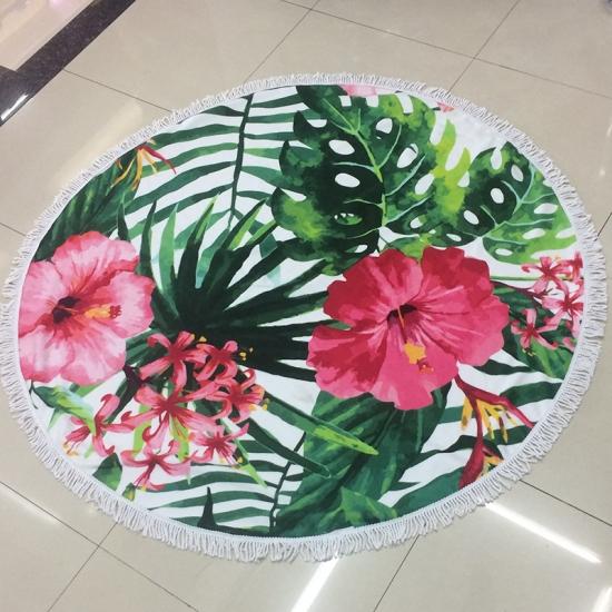 Фото - Пляжный коврик Цветы купить в киеве на подарок, цена, отзывы