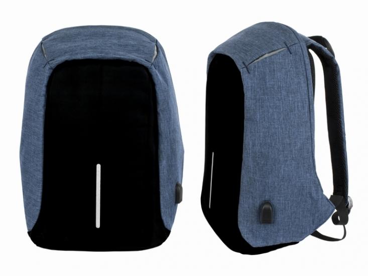 Фото - Рюкзак Dasfour USB Blue купить в киеве на подарок, цена, отзывы