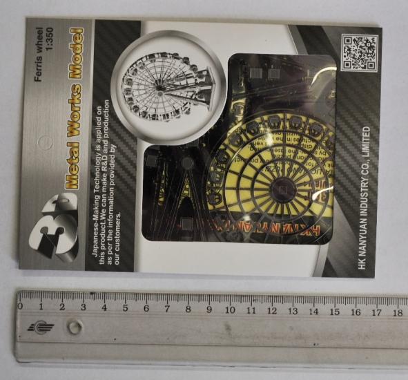 Фото - Металлический конструктор Чертово Колесо купить в киеве на подарок, цена, отзывы