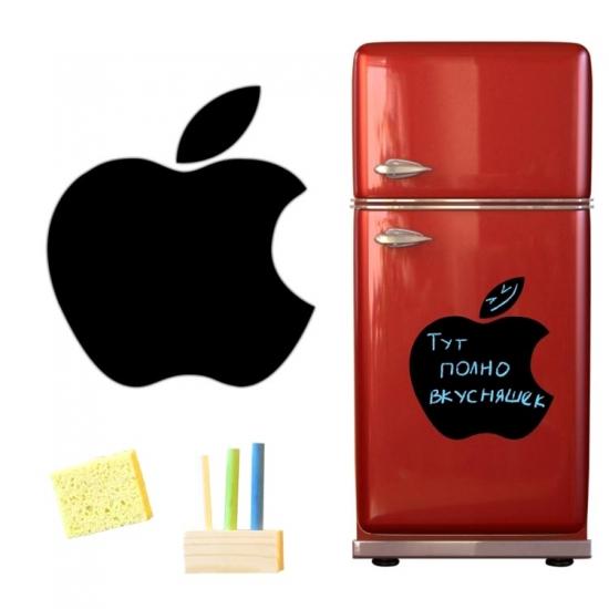 Фото - Магнитная доска для мела Apple 40*43см. купить в киеве на подарок, цена, отзывы