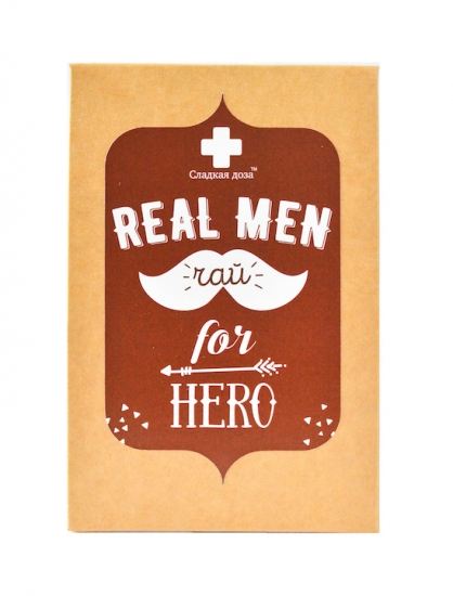 Фото - Real Men чай купить в киеве на подарок, цена, отзывы