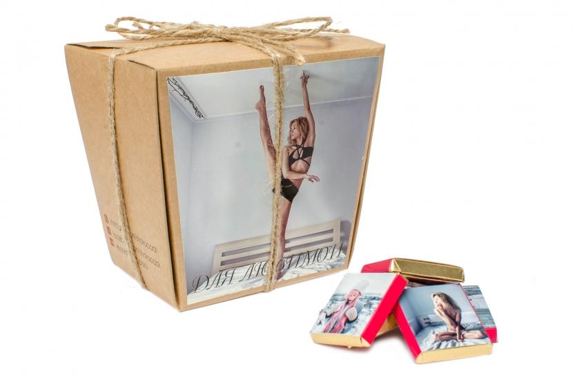 Фото - Шоколад с ВАШИМ ФОТО 30 плиточек купить в киеве на подарок, цена, отзывы