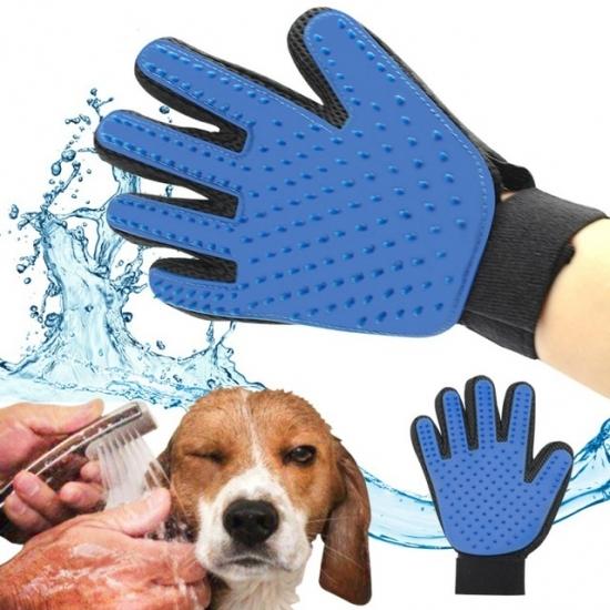 Фото - Перчатка для вычесывания шерсти животных купить в киеве на подарок, цена, отзывы