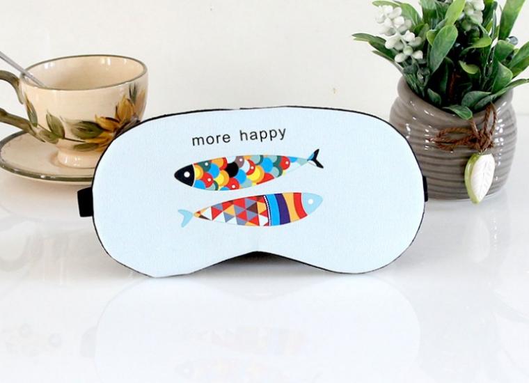 Фото - Маска для сна Счастье (blue) купить в киеве на подарок, цена, отзывы
