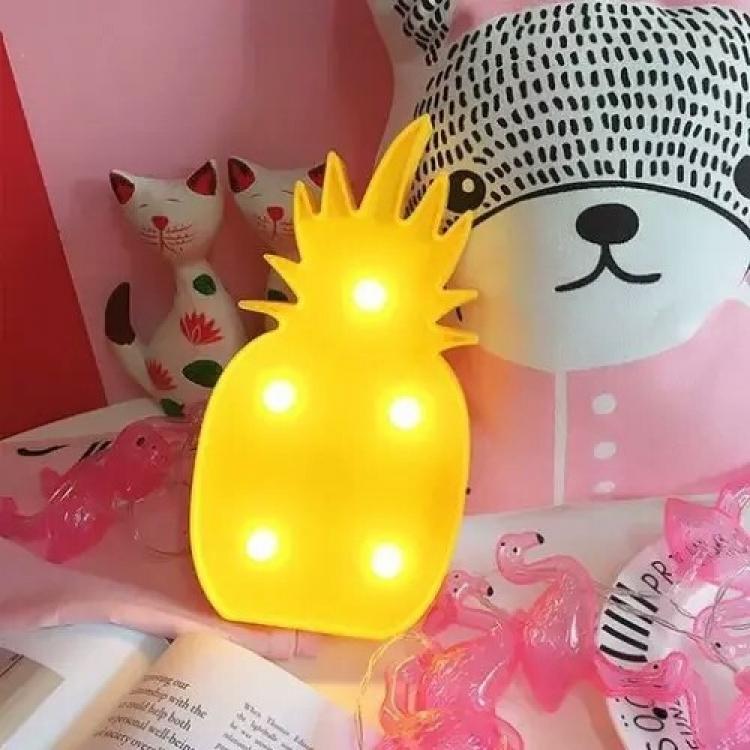 Фото - Светильник ночник 3D Ананас купить в киеве на подарок, цена, отзывы