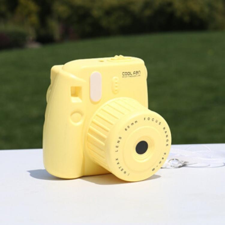Фото - Вентилятор Фотоаппарат Yellow  купить в киеве на подарок, цена, отзывы