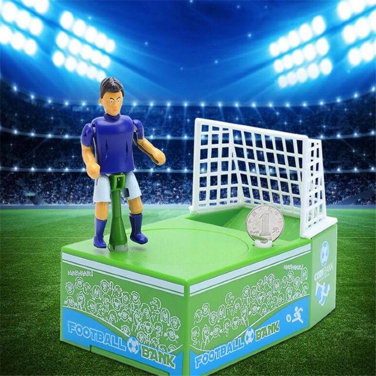 Фото - Копилка Футболист забивает гол монеткой купить в киеве на подарок, цена, отзывы