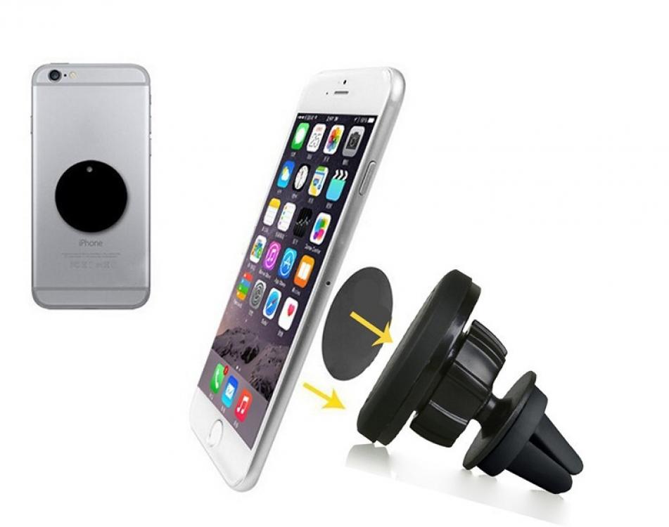 Фото - Магнитный держатель для телефона в машину купить в киеве на подарок, цена, отзывы