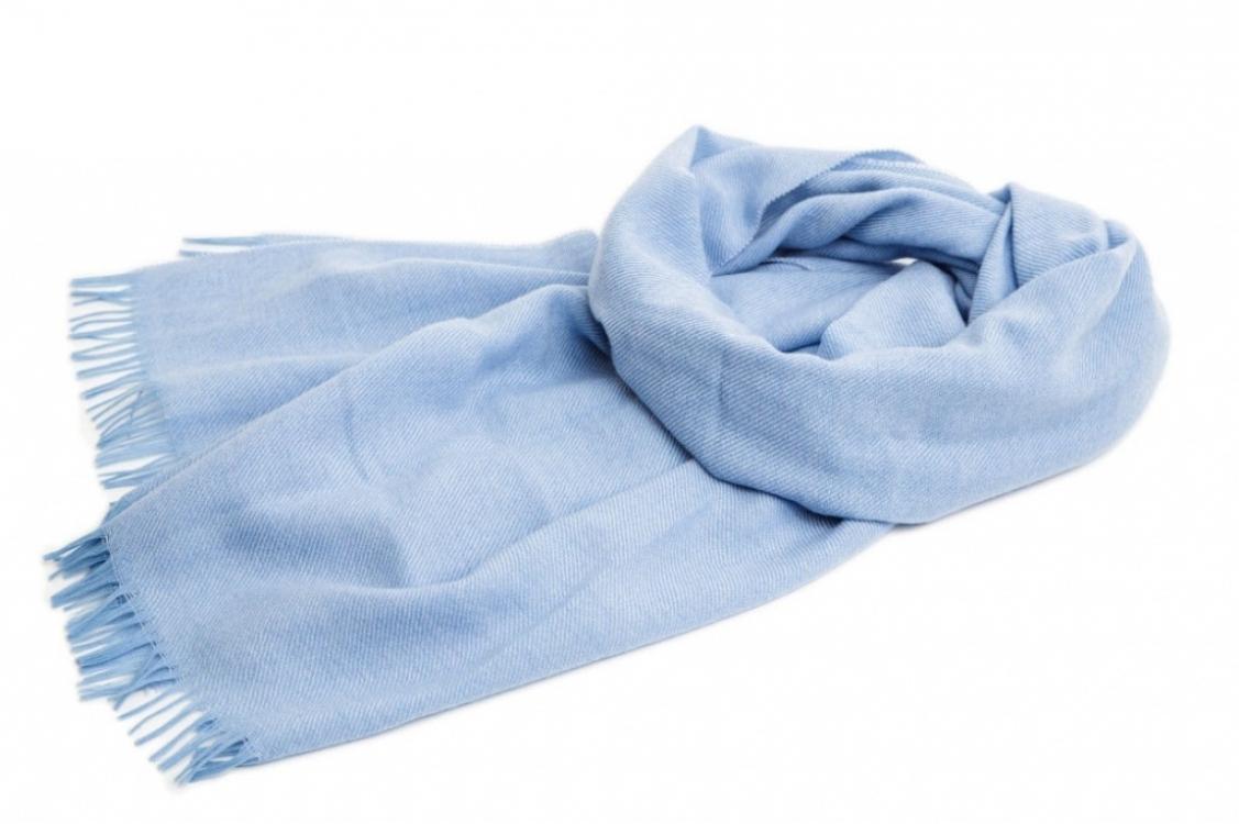 Фото - Палантин (голубой) купить в киеве на подарок, цена, отзывы