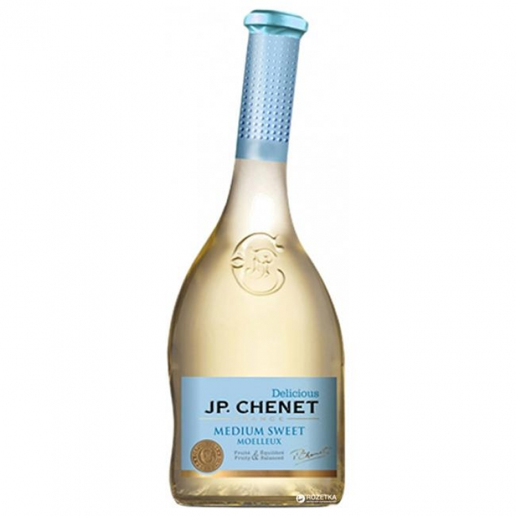 Фото - Вино J.P. Chenet Blanc Medium Sweet белое полусладкое 0.75 л купить в киеве на подарок, цена, отзывы