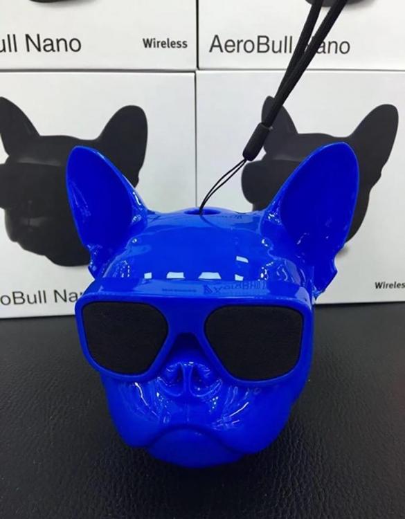Фото - Беспроводная колонка Бульдог Blue mini купить в киеве на подарок, цена, отзывы