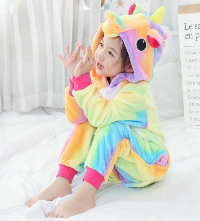 Фото - Детское кигуруми радужный единорог 130 см купить в киеве на подарок, цена, отзывы