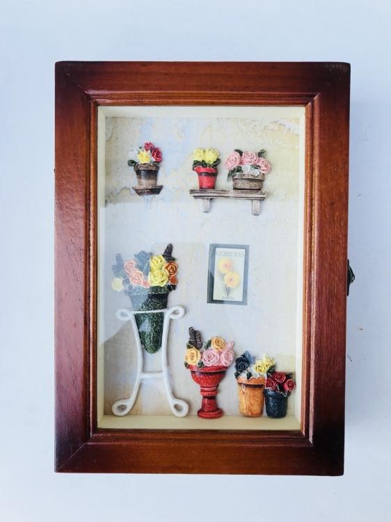 Фото - Ключница настенная Gerberas купить в киеве на подарок, цена, отзывы