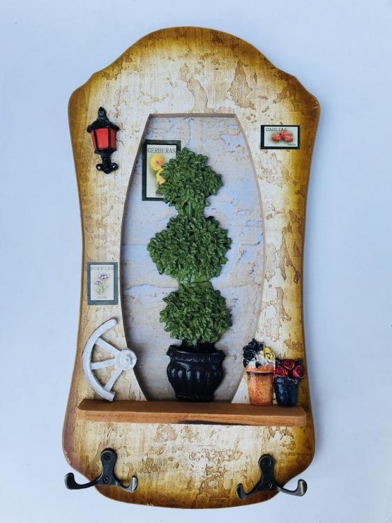 Фото - Ключница настенная Poppies купить в киеве на подарок, цена, отзывы