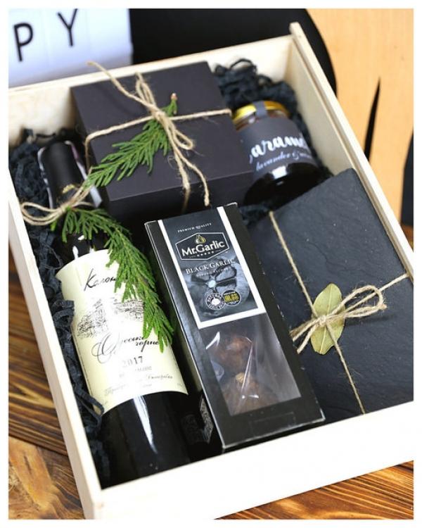Фото - Подарочный набор Черный  купить в киеве на подарок, цена, отзывы